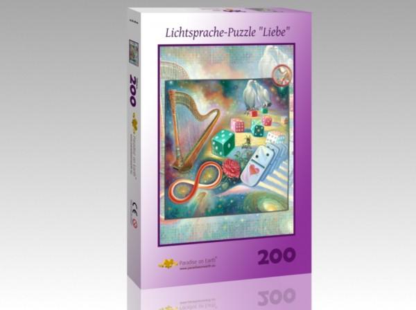 """Lichtsprache-Puzzle """"Liebe"""""""