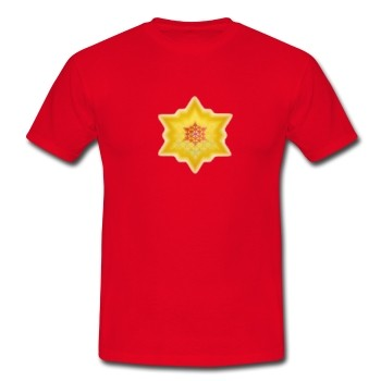 """T-Shirt """"Göttliches Lichtbewusstsein"""", rot"""