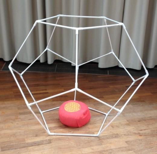 Pentagon Dodekaeder V2 begehbar (groß)
