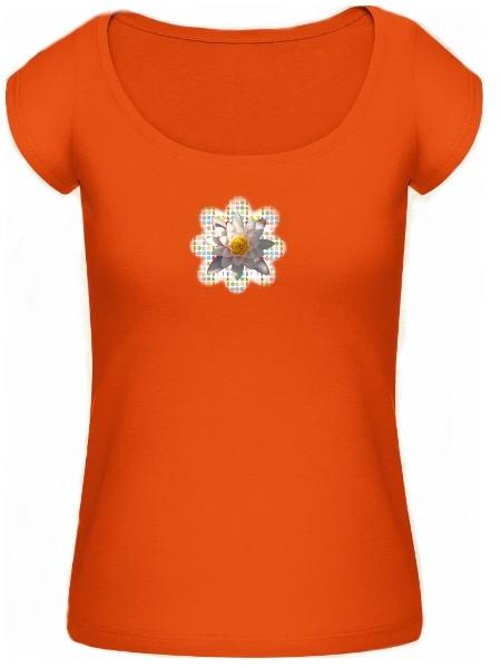 "Shirt ""Beauty"", orange"