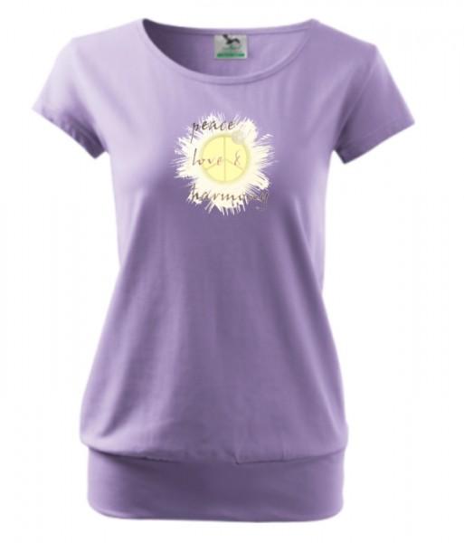 CityShirt Peace Love Harmony