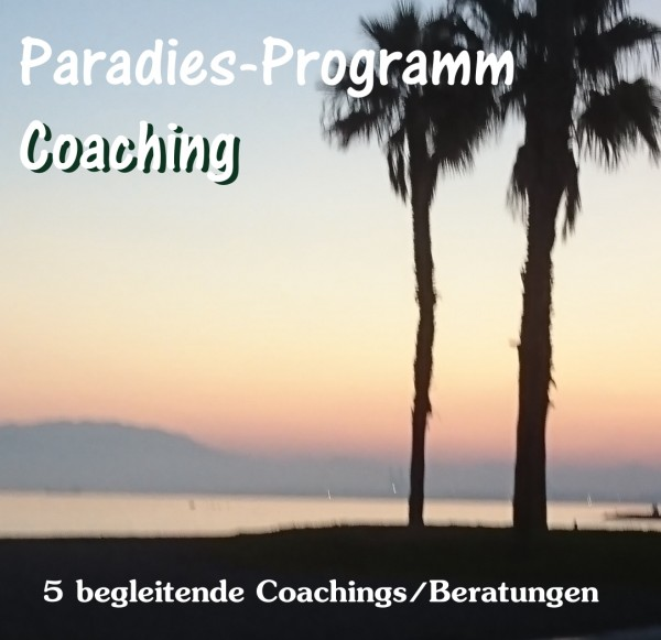 "Paradies-Programm ""Coaching-Paket"""
