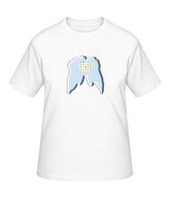 "Big-Shirt ""Flügel"", weiß"
