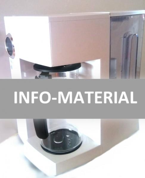 """Info-Material """"Wasseraufbereitungs-Gerät"""""""
