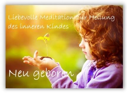 Meditation Neu geboren
