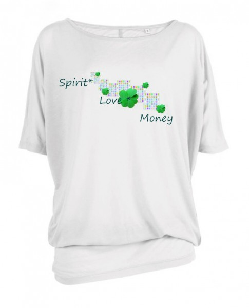 "Oversize ""Spirit Love Money"""