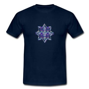 T-Shirt - Glaube, dunkelblau