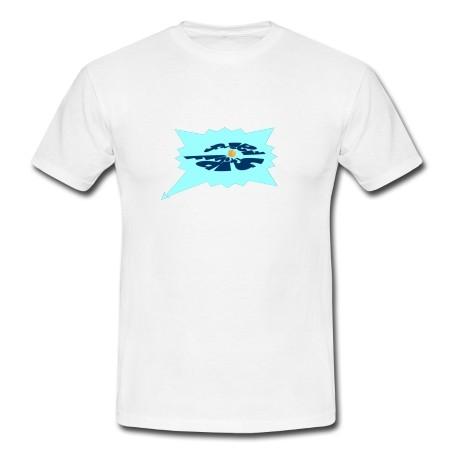 """T-Shirt - """"Urvertrauen"""", weiß"""