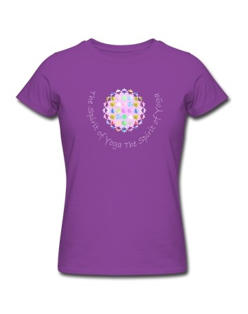 "Yoga-Shirt ""Reine Form"""