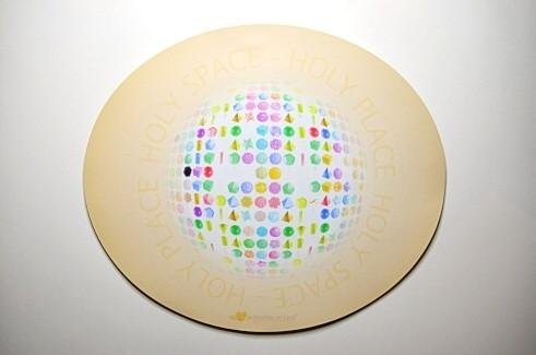 """(Mouse-) Pad """"Holy Space"""", groß/oval"""