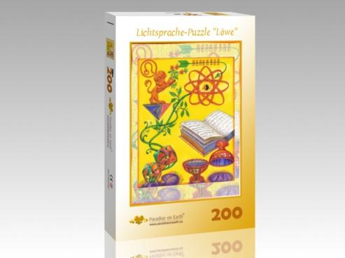 """Lichtsprache-Puzzle """"Löwe"""""""