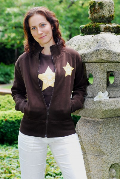 "Sweatshirt-Jacke ""Star"""