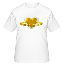 """Big-Shirt """"Herz"""", weiß"""