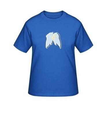 "Big-Shirt ""Flügel"", blau"
