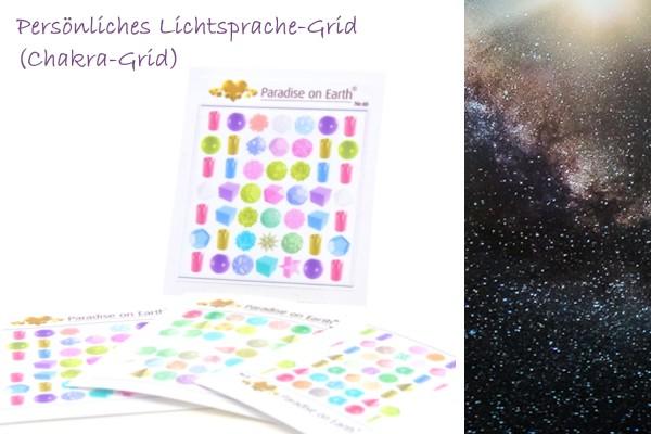 Chakra-Lichtsprache-Grid
