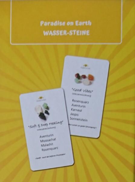 """Orakel-Karten-Set """"Wasser-Steine"""""""