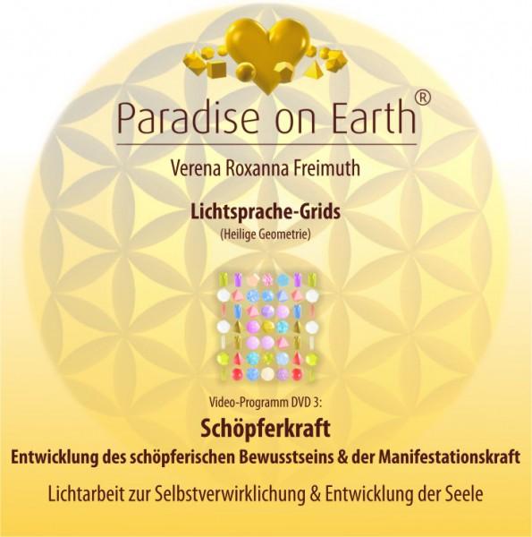 """DVD 3: Lichtsprache-Grids """"Schöpferkraft"""""""