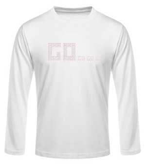 "Langarm-Shirt -""Go"""