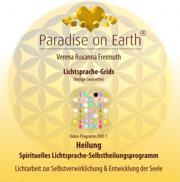 """DVD 1: Lichtsprache-Grids """"Heilung"""""""