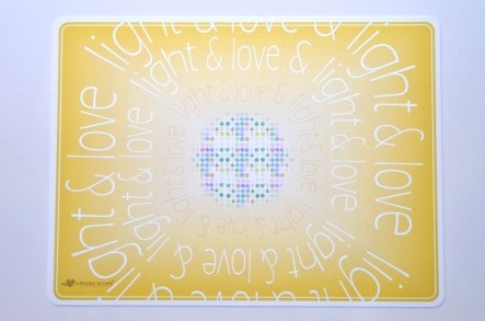 "Tisch-Sets ""love & light"" (2er Packung)"