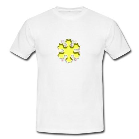 """T-Shirt - """"Klarheit"""" weiß"""